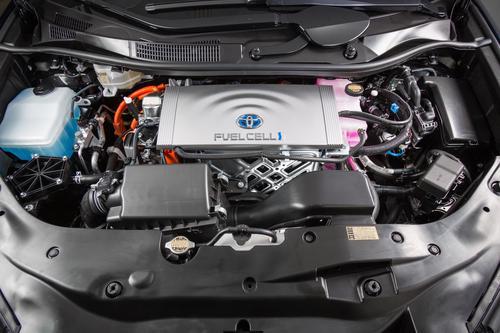 Toyota Mirai motortér