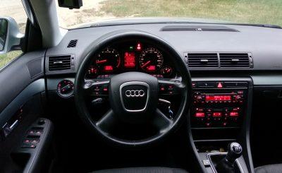 Audi A4 belső kép