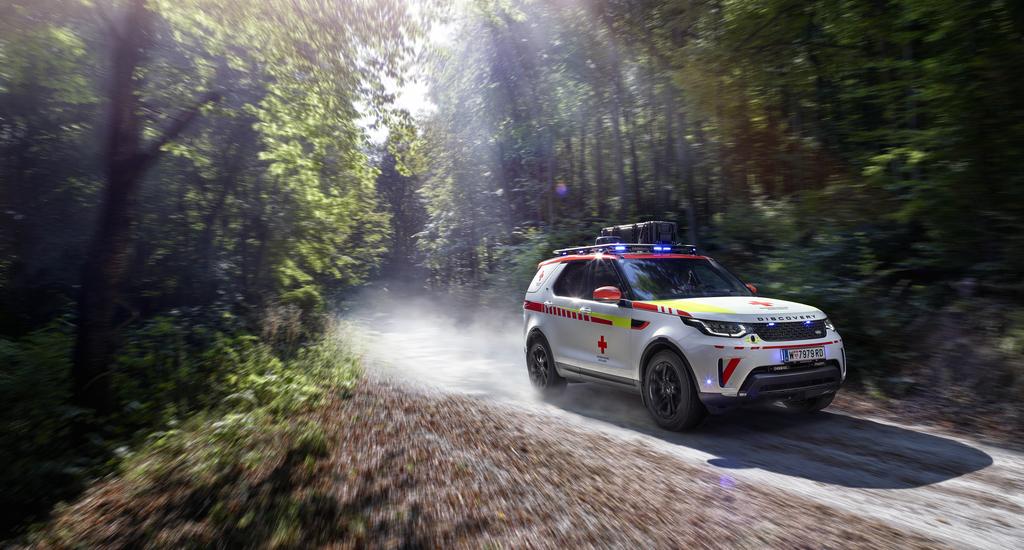 Land Rover Discovery Vöröskereszt