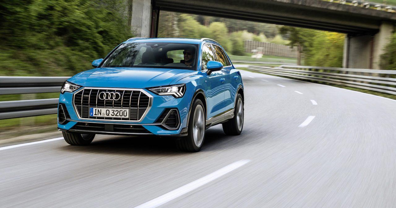 Audi Q3 turbo blue