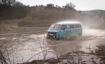VW T3 off-road verseny