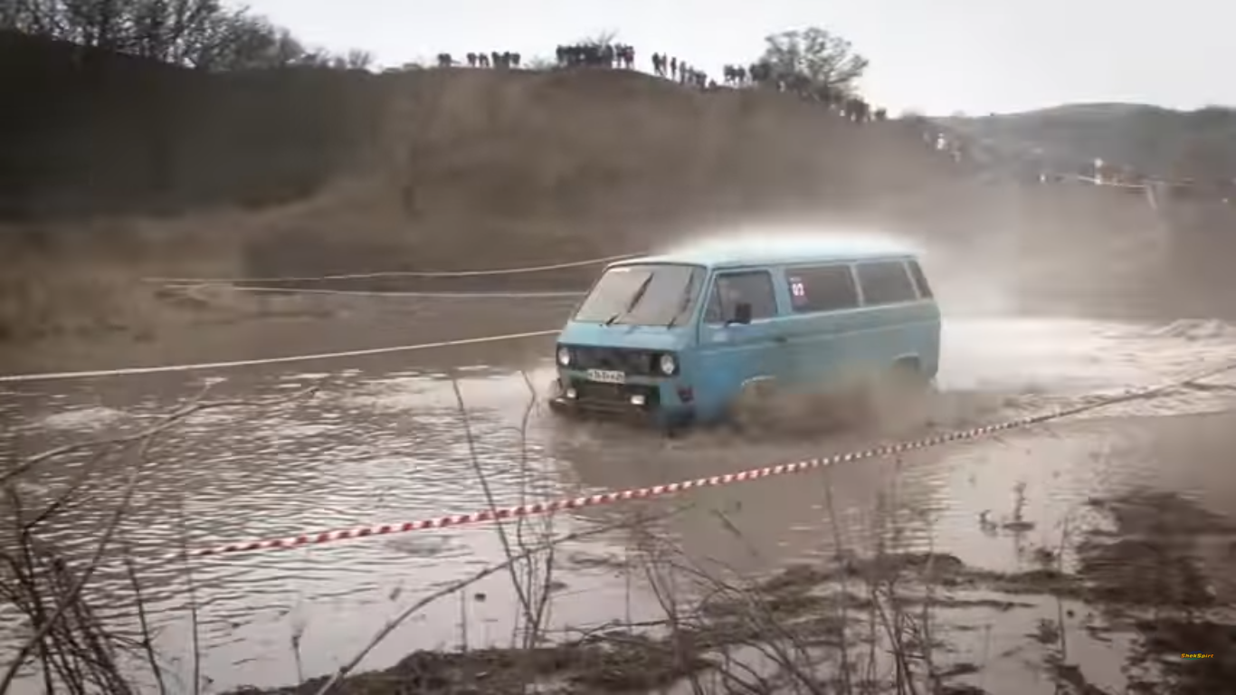 VW T3 off-road verseny