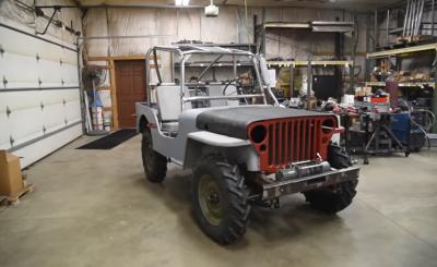 Willys Jeep átalakítás